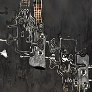 Abstrait En Do Majeur A2 Print by Aimelle