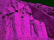 Tourist Attraction Digital Art - Abu Simbel by George Pedro