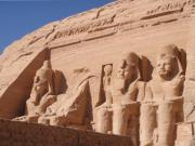 Hathor Prints - Abu Simbel Print by Richard Deurer