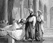 European Artwork Prints - Abulcasis, Islamic Physician Print by