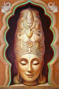 Lakshmi Framed Prints - Abundance Meditation Framed Print by Sue Halstenberg