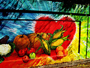 Street Art Prints - Abundant Autumn Print by Michael Durst