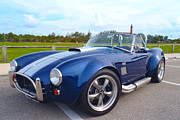 Blue Chevy Photos - AC Cobra by Carey Chen