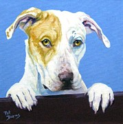 Mascot Painting Prints - AC Pup Print by Pat Burns