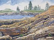 Oils Originals - Acadia Morning by Peter Muzyka
