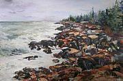 Acadian Afternoon Print by Alicia Drakiotes