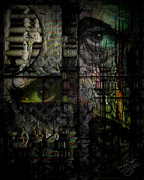 Haunted  Digital Art - Accusations by Mimulux patricia no