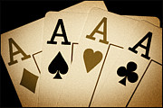4 Aces Photos - Aces by Shane Rees