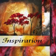 Inspire Painting Prints - Achieve Your Dreams by MADART Print by Megan Duncanson