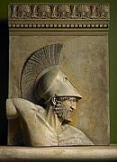 Plaque Reliefs - Achilles Wall plaque the Greek hero by Goran