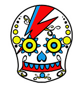 Sugar Skulls Digital Art - Acid Ziggy by Sugar Skull