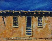 Adobe Prints - Acoma Print by Jerry McElroy