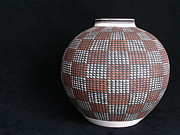 Macro Photography - Acoma Pot by Lynn-Marie Gildersleeve