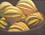 Acorn Paintings - Acorn Squash  by Judy  Hilton