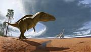 Julius Csotonyi - Acrocanthosaurus