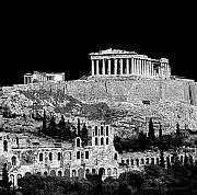 Acropolis Photo Posters - Acropolis Poster by Andy Frasheski