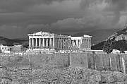 Acropolis Framed Prints - Acropolis Framed Print by Gabriela Insuratelu