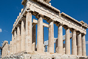 Old Door Framed Prints - Acropolis Parthenon 2 Framed Print by Emmanuel Panagiotakis