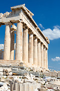 Old Door Prints - Acropolis Parthenon 3 Print by Emmanuel Panagiotakis