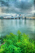 Hdr Effects Photos - Across the River by Darren Fisher