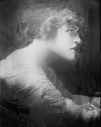 1900s Portraits Photos - Ada Sullivan, Early 1900s Glamor Girl by Everett