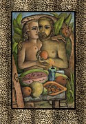 Janice Hightower Art - Adam and Eve by Janice Hightower
