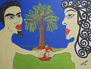 Eve Originals - Adam and Eve  by Jaqueline Briel