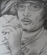 Punk Drawings Posters - Adam Ant-Still Got It Poster by Dawn Jones