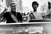 African-american Photo Posters - Adam Clayton Powell And Shirley Poster by Everett