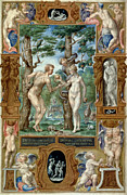 Knowledge Art - Adam & Eve, 1546 by Granger