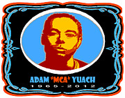 Rap Art - Adam Mca Yuach Tribute Artwork by Stanley Slaughter Jr