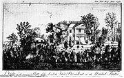 President Adams Prints - ADAMS: HOME, c1790 Print by Granger