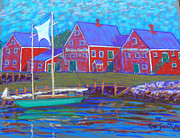 Science Fiction Pastels - Adams  Knickle Lunenburg by Rae  Smith PSC