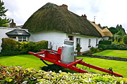 Adare Acrylic Prints - Adare Cottage Acrylic Print by Charlie and Norma Brock