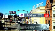 Karl Haglund Metal Prints - Addison L - Chicago Metal Print by Karl Haglund