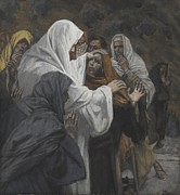 Testament Art - Address to Saint Philip by Tissot