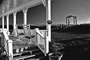 Rockers Photos - Addy Sea front porch by Bill Jonscher
