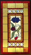 Panel Glass Art Originals - Adelaide I by Melissa Sullivan