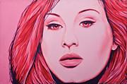 Adele Print by Derek Donnelly