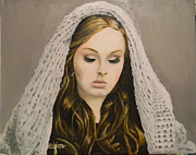 Adele Painting Metal Prints - Adele Metal Print by Eric Barich