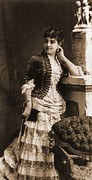 Soprano Framed Prints - Adelina Patti 1843-1919 In 1881 Framed Print by Everett
