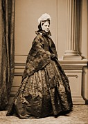 Soprano Framed Prints - Adelina Patti 1843-1919, Was Among Framed Print by Everett