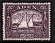 Stamps Digital Art - Aden by George Pedro