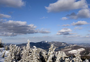 """adirondack Park""  Photo Posters - Adirondack Mountains During Winter Poster by Brendan Reals"
