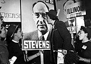 Campaign Photos - Adlai Stevenson, Presidential by Everett