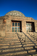 Entrance Door Photos - Adler Planetarium and Astronomy Museum in Chicago by Paul Velgos
