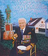 Navy Pastels - Admiral Desmond Piers by Rae  Smith