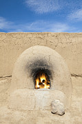 Pueblo De Taos Acrylic Prints - Adobe Oven Acrylic Print by Bryan Mullennix