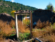 Adobe Framed Prints - Adobe Ruins Las Trampas NM Framed Print by Troy Montemayor