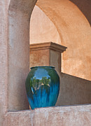 Tlaquepaque Village Prints - Adobe Stoneware Print by Jeffrey Campbell
